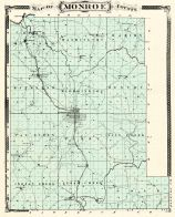 Monroe County, Indiana Counties 1876