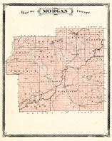 Morgan County, Indiana Counties 1876