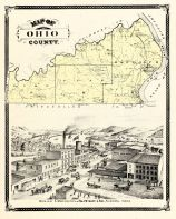 Ohio County, Indiana Counties 1876