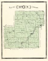 Owen County, Indiana Counties 1876