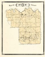 Pike County, Indiana Counties 1876