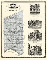 Porter County, Indiana Counties 1876