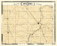 Pulaski County, Indiana Counties 1876