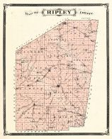 Ripley County, Indiana Counties 1876