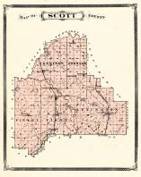 Scott County, Indiana Counties 1876