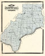 Spencer County, Indiana Counties 1876