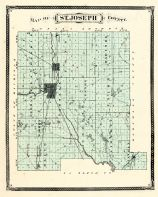 St.Joseph County, Indiana Counties 1876