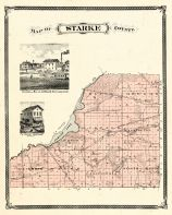 Starke County, Indiana Counties 1876