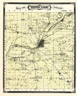 Tippecanoe County, Indiana Counties 1876
