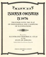 Title Page, Indiana Counties 1876