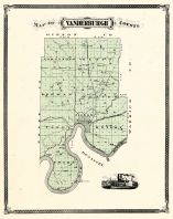 Vanderburgh County, Indiana Counties 1876