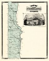 Vermillion County, Indiana Counties 1876