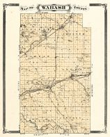Wabash County, Indiana Counties 1876