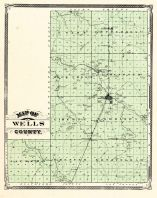 Wells County, Indiana Counties 1876