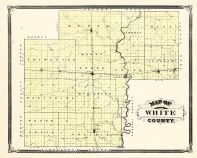 White County, Indiana Counties 1876