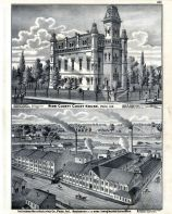 Court House - Miami County, Indiana Manufacturing Co., Indiana State Atlas 1876