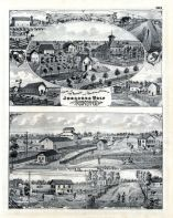 Joseph Wolf, Cobourg Porter Co., H.W. Forbes, T.J. Forbes, Indiana State Atlas 1876