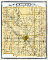 Allen County, Indiana State Atlas 1876