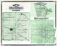 Blackford County, Montpelier, Hartford City, Indiana State Atlas 1876