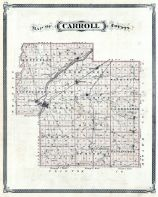 Carroll County, Indiana State Atlas 1876