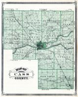 Cass County, Indiana State Atlas 1876