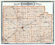 Clinton County, Indiana State Atlas 1876