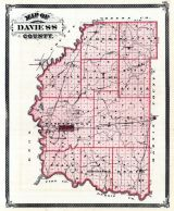 Davis County, Indiana State Atlas 1876