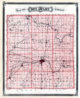 Delaware County, Indiana State Atlas 1876