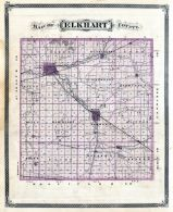 Elkhart County, Indiana State Atlas 1876