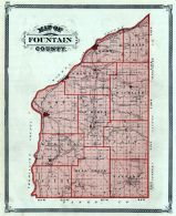 Fountain County, Indiana State Atlas 1876