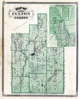 Fulton County, Rochester, Indiana State Atlas 1876