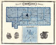 Howard County, Russiaville, Indiana State Atlas 1876