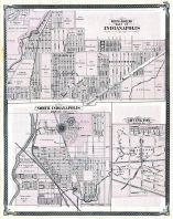 Indianapolis - North, Indianapolis - North-Eastern, Irvington, Indiana State Atlas 1876