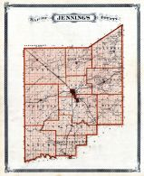 Jennings County, Indiana State Atlas 1876