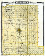 Monroe County, Indiana State Atlas 1876