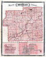Morgan County, Mooresville, Martinsville, Indiana State Atlas 1876