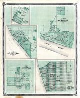 Newburgh, Cannelton, Boonville, Tell City, Troy, Indiana State Atlas 1876