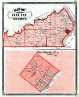 Ohio County, Rising Sun City, Indiana State Atlas 1876