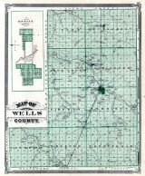 Ossian, Wells County, Indiana State Atlas 1876