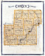 Owen County, Indiana State Atlas 1876