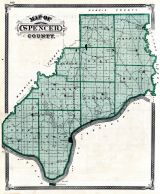 Spencer County, Indiana State Atlas 1876