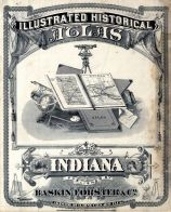 Indiana State Atlas 1876