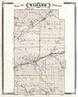 Wabash County, Indiana State Atlas 1876