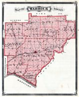 Warrick County, Indiana State Atlas 1876