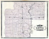 White County, Indiana State Atlas 1876