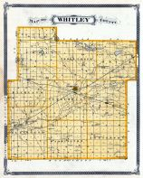 Whitley County, Indiana State Atlas 1876