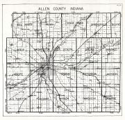 Allen County, Indiana State Atlas 1934