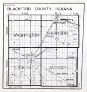 Blackford County, Indiana State Atlas 1934