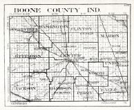 Boone County, Indiana State Atlas 1934