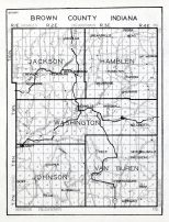 Brown County, Indiana State Atlas 1934